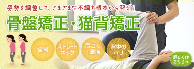 宝塚市阪急逆瀬川駅おはな整骨院骨盤矯正・猫背矯正