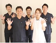 宝塚市阪急逆瀬川駅おはな整骨院受付写真お見送り写真